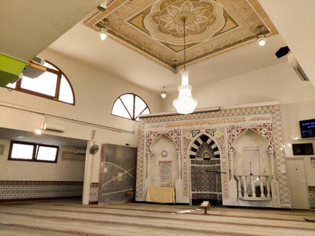interieur Masjid al oumma